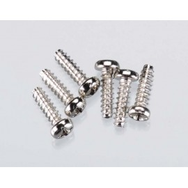 Traxxas Roundhead Screw 3x10mm (6)