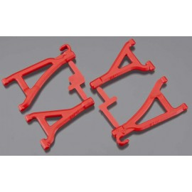 RPM Front Upper/Lower A-Arms Red 1/16 E-Revo