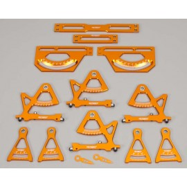 Integy Universal Setup Station System Orange 1/10 1/16