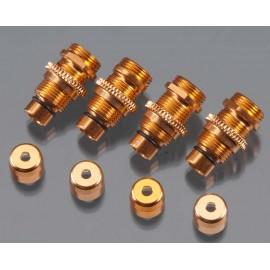 Golden Horizons Alum Shock Body Orng 1/16 E-Revo/Slash