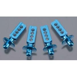 Golden Horizons Alum Body Post Blue 1/16 E-Revo/Slash