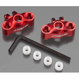 Integy Alloy Steering Block Red 1/16 E-Revo (2)