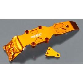 Integy Front Skid Plate Orange 1/16 E-Revo/Slash VXL