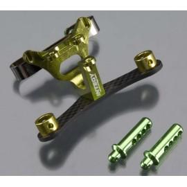 Integy Front Body/Pin Mount Green 1/16 E-Revo/Slash VXL