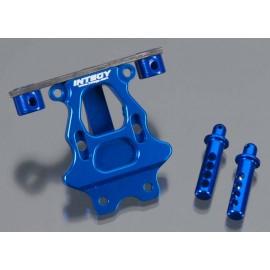 Integy Billet Mach Re Body & Pin Mount Blue 1/16 E-Revo
