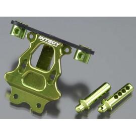 Integy Rear Body/Pin Mount Green 1/16 E-Revo/Slash VXL