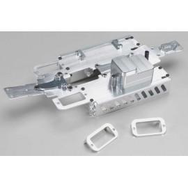 Integy Complete Alloy Chassis Set Slv 1/16 E-Revo/Slash