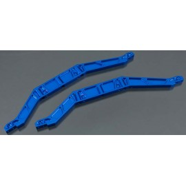 Integy Billet Mach Aluminum Chassis Brace Blue E-Maxx