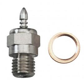 Traxxas Standard Long Glow Plug w/Gasket