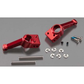 Traxxas Carriers Stub Axle Red Anodized Rear (2)