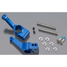 Traxxas Aluminum Rear Stub Axle Blue Stampede 4X4 (2)