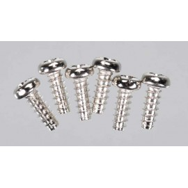 Traxxas Roundhead Screw 3x8mm (6)
