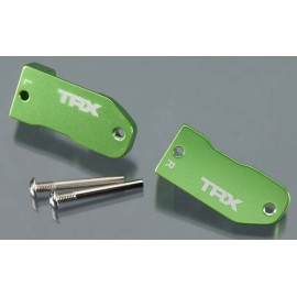 Traxxas Caster Blocks Left & Right Green