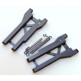 ST Racing Concepts Mach Alum Rear A-Arms Gun Metal Slas
