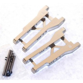 ST Racing Concepts Mach Alum Rear A-Arms Silver Slash