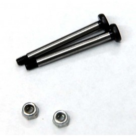 ST Racing Concepts Polished Steel Rear Outer Hinge-Pin