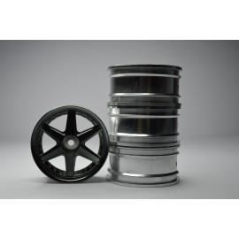 1/10 RC Car 6 Spoke Wheel Sports 26mm (4pcs)
