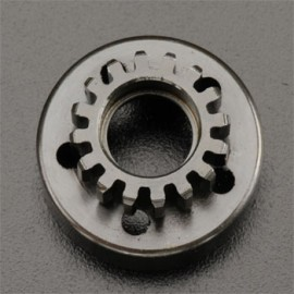 Traxxas Clutch Bell 16T/Fiber Washer/E-Clip Revo (2)