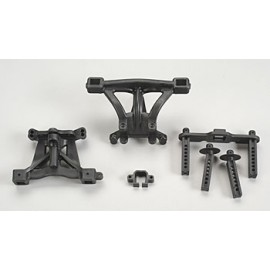 Traxxas Front/Rear Body Mounts w/Posts & Pins Revo