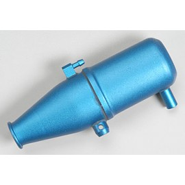 Traxxas Aluminum Tuned Pipe Blue Anodized Revo