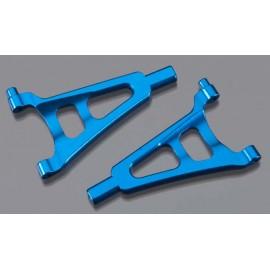 Golden Horizons Alum Front Upper Arm Blue 1/16 E-Revo