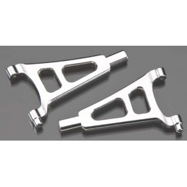 Golden Horizons Alum Front Upper Arm Silver 1/16 E-Revo