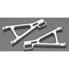Golden Horizons Alum Front Lower Arm Silver 1/16 E-Revo