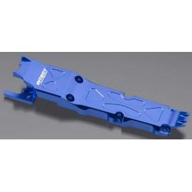 Integy Center Skid Plate Blue 1/16 E-Revo/Slash VXL