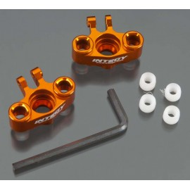 Integy Alloy Steering Block Orange 1/16 E-Revo VXL (2)
