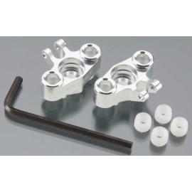 Integy Alloy Steering Block Silver 1/16 E-Revo/Slash(2)