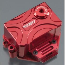 Integy Alloy Receiver Box Red 1/16 E-Revo/Slash VXL