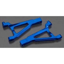 Integy Billet Mach Front Upper Arm Blue 1/16 E-Revo VXL