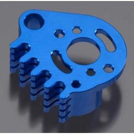 Integy Billet Machined Motor Mnt Blue 1/16 E-Revo/Slash