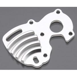 Integy Billet Mach Motor Plate Silver 1/16 E-Revo/Slash