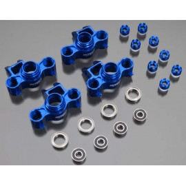 Integy Complete Steering Block Set Blue Revo 3.3 (4)