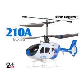 NINE EAGLES SOLO EC135 AZUL