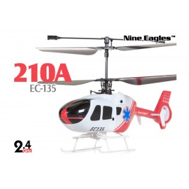 NINE EAGLES SOLO EC135 ROJO