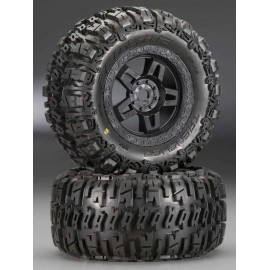 "Pro-Line Trencher 3.8"" All-Terrain MT Tires Mounted (2)"