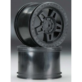 "Pro-Line Tech5 3.8"" Narrow Wheels for 17mm Hex Black"