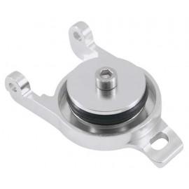 Golden Horizons Aluminum Fuel Cap Silver T-Maxx 2.5/3.3