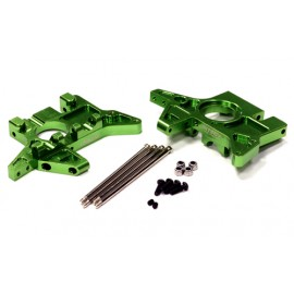 Integy F/R Gearbox Housing Green T/E-Maxx