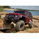 Trx-4 Scale & Trail Crawler Defender 4wd Red RTR W/ TQi Radio