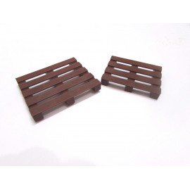 1/10 scale 2 brown plastic pallet rc crawler truck accessories axial rc4wd
