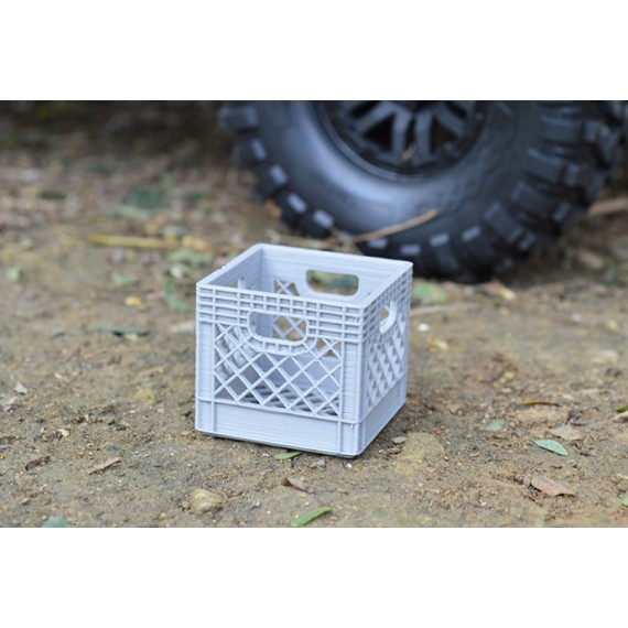 Scale Milk Crate For RC Crawler