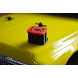 Scale Model Battery For RC Crawler Garage