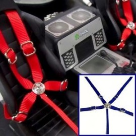 RC Scale, Drift, Crawler Racing 5 Point Harness Seatbelt Set Toyz 001