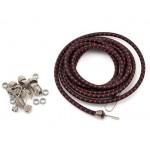 Hot Racing 1/10 Bungee Cord Kit (Black/Red)