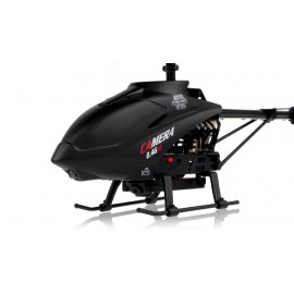 UDI U13A Mini Spy Helicopter w/Gyro (Black)