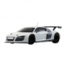 Kyosho 1/27 MR-03S Audi R8 LMS White Mini-Z RTR