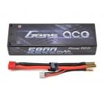 Gens Ace 2s LiPo Battery Pack 100C w/4mm Bullet (7.4V/5800mAh)
